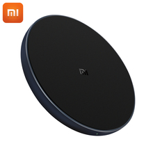 Original Xiaomi Wireless Charger Universal Fast Charge Version Qi Smart Quick Charger For Mi MIX 2S iPhone X 8 plus Sumsung S9