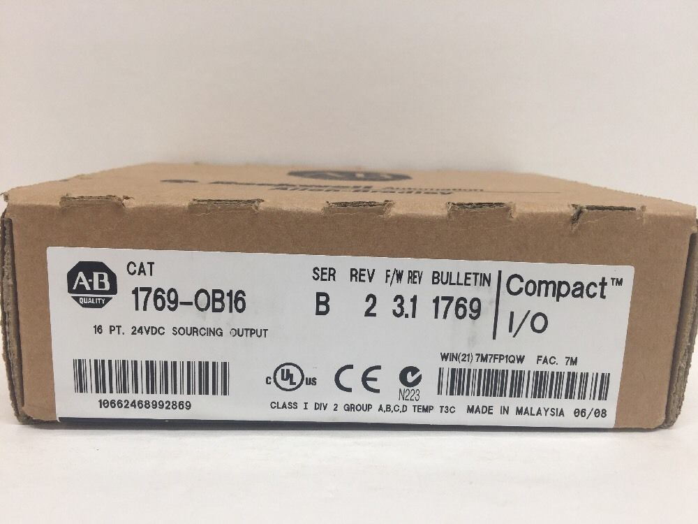 Brand New Allen Bradley 1769-OB16 With Free DHL / EMS brand new zx sf11 01 with free dhl