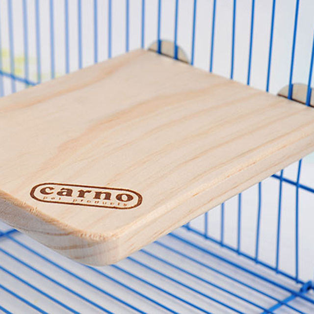 18x13x1.5CM Wooden Rectangular Springboard Pet Hamster Totoro Squirrel Parrot Mouse Pedal Toys Cage Accessories Free Shipping