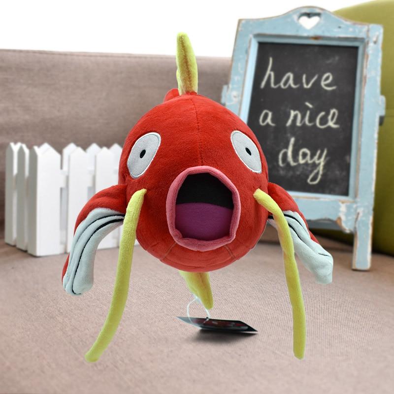 28cm Magikarp Plush Toy Magikarp Peluche Fish Brinquedos Soft Stuffed Animals Toys Doll Fashion Cartoon Plush Toy For Kids