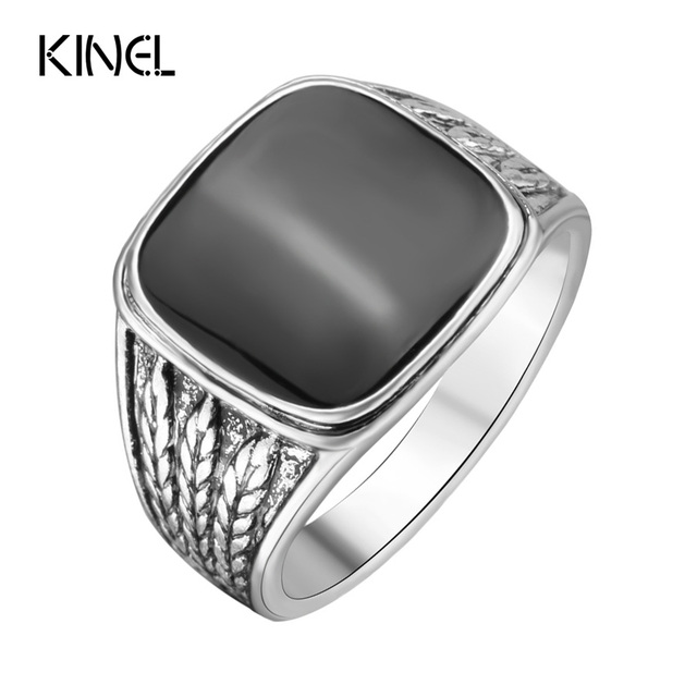 Forever The Black Friday To Provide Lowest Price Men Biker Silver Jewelry Fashion Wedding Rings