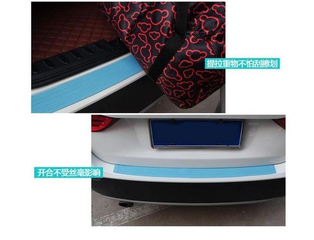 Car rear bumper sticker for citroen c4 c quatre c elysee c5