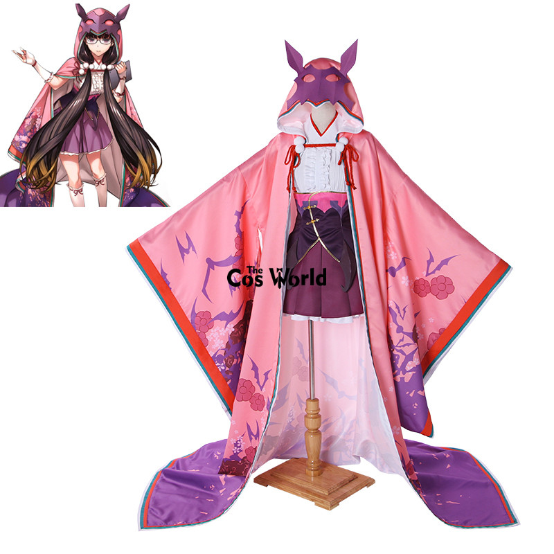 FGO Fate Grand Order Assassin Osakabehime Kimono Yukata Tops Dress Uniform Outfit Anime Cosplay Costumes