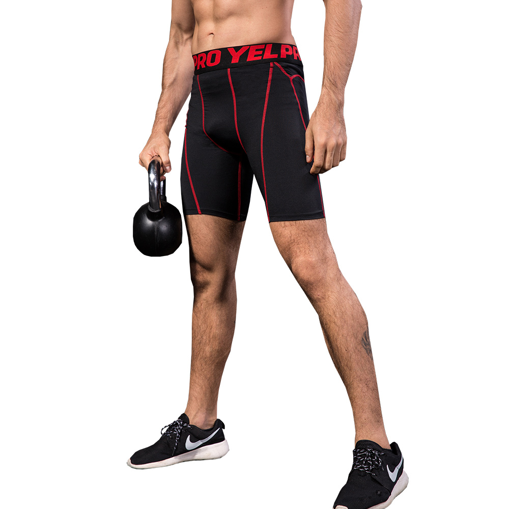 Muscleguys Quick Dry Compression Shorts Men's Bodybuilding Fitness Tight Shorts Sweat Sportwear Short Trousers Gyms Shorts Male