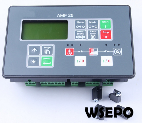 Top Quality Replacement Controller, AMF25 Control Module/Controller Unit for Diesel Generator Set free shipping deep sea generator set controller module p5110 generator control panel replace dse5110