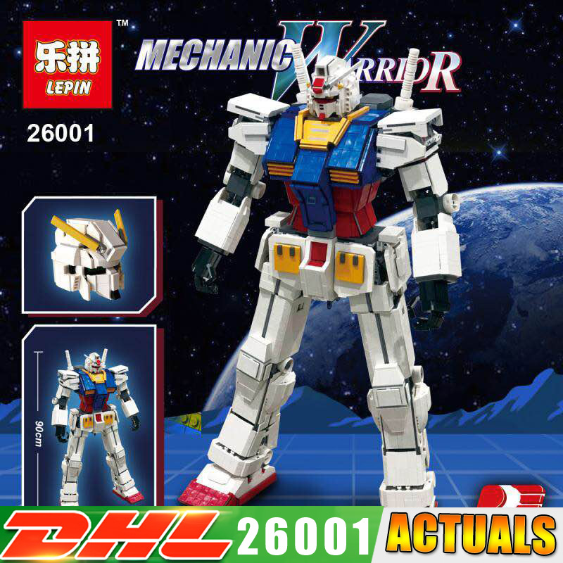 DHL Lepin 26001 Movie Series The MOC Super Robot Warrior Set Building Blocks Bricks Toys for Children Christmas Gift Robot Model single sale super heroes transparent predator the movie series one eyed alien building blocks for children gift toys kf812