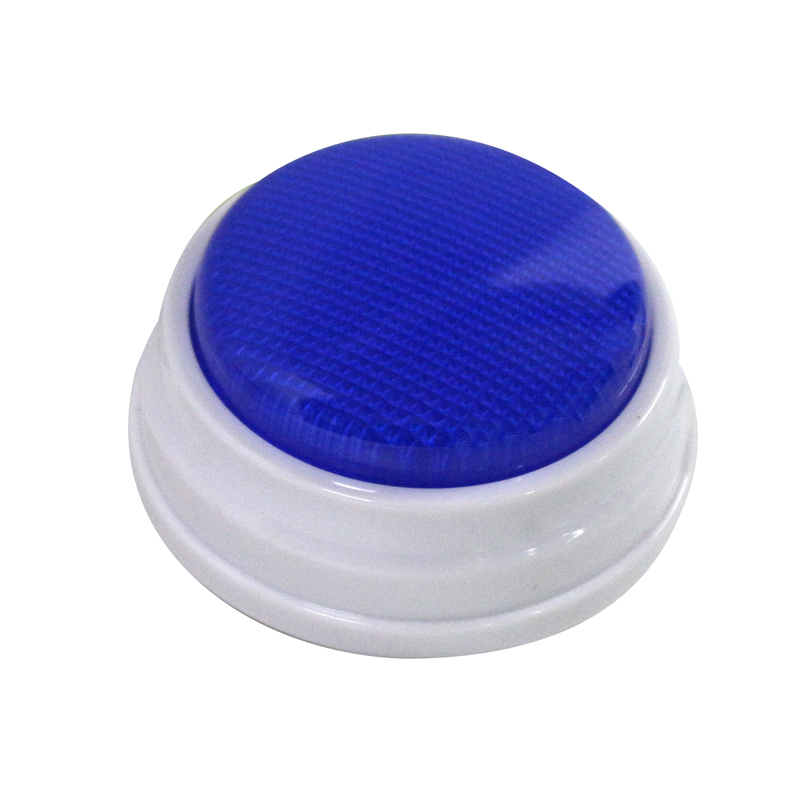 30s Recording Time, Fun Game Show Audio Push Buttons, Recordable Sound Buzzer With LED M10