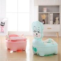 Cartoon Dog Child Urinal Boys Girls Portable Potty Baby Potty Training Seat Non slip Travel Pot infant Potty Children's Toilet