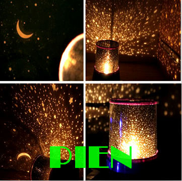 Holiday Novelty Gifts Night Light Star Sterry Master Projectors Moon Shape Kids Babby Bedroom Ceiling Lamp