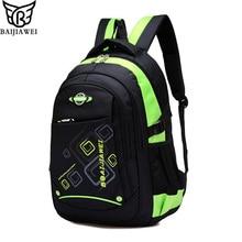 BAIJIAWEI Children School Bags Children Waterproof Backpack In Primary School Backpacks For Girls Boys Mochila Infantil Zip