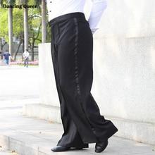 2016 New Arrival Men Jazz/Latin Dance trousers Pants Black Mens Ballroom Dance Pants Dance Wear Practice/Performance DQ6044