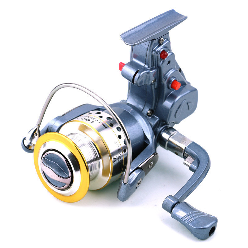 Electric spinning reel 4000 series 3bb automatic fishing for Electric fishing rod