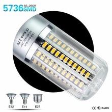 E27 E14 E12 Led Corn Lamp SMD5736 25W 20W 15W 10W 5W High Power Lampada Led For Hotel Kitchen Led Lighting 110V 220V 120V 230V