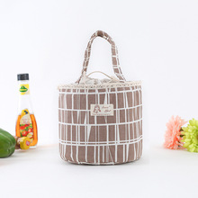 Cute Animal Portable Insulation Bag Waterproof Cotton And Linen Lunch Takeaway Package Fashion Ice