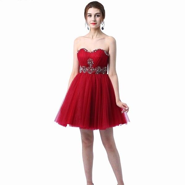 Ladybeauty/; платье для сестер; короткое вечернее платье; топ-труба; короткие дизайнерские вечерние платья на шнуровке; платье для выпускного вечера; - Цвет: wine red