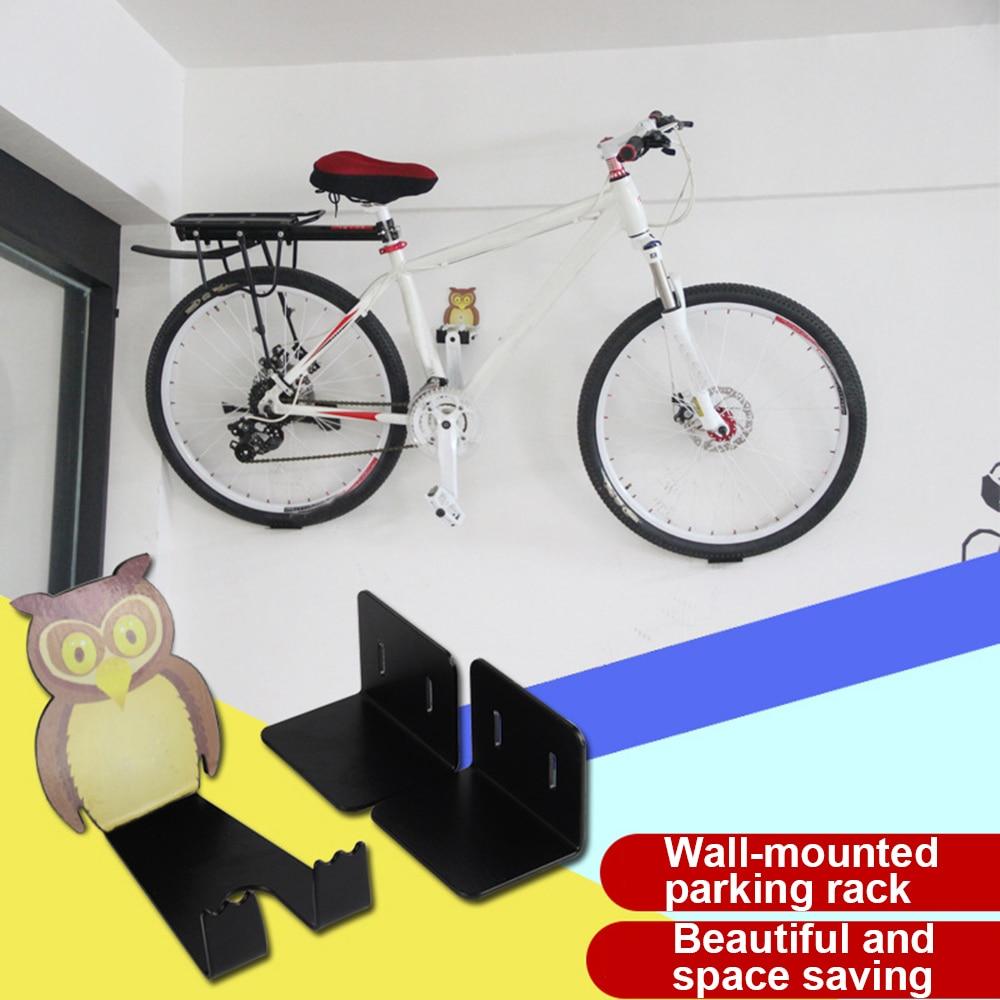 2x Steel Bike Rack Stand Storage Wall Mounted Hook Hanger Bicycle Holder Hanging
