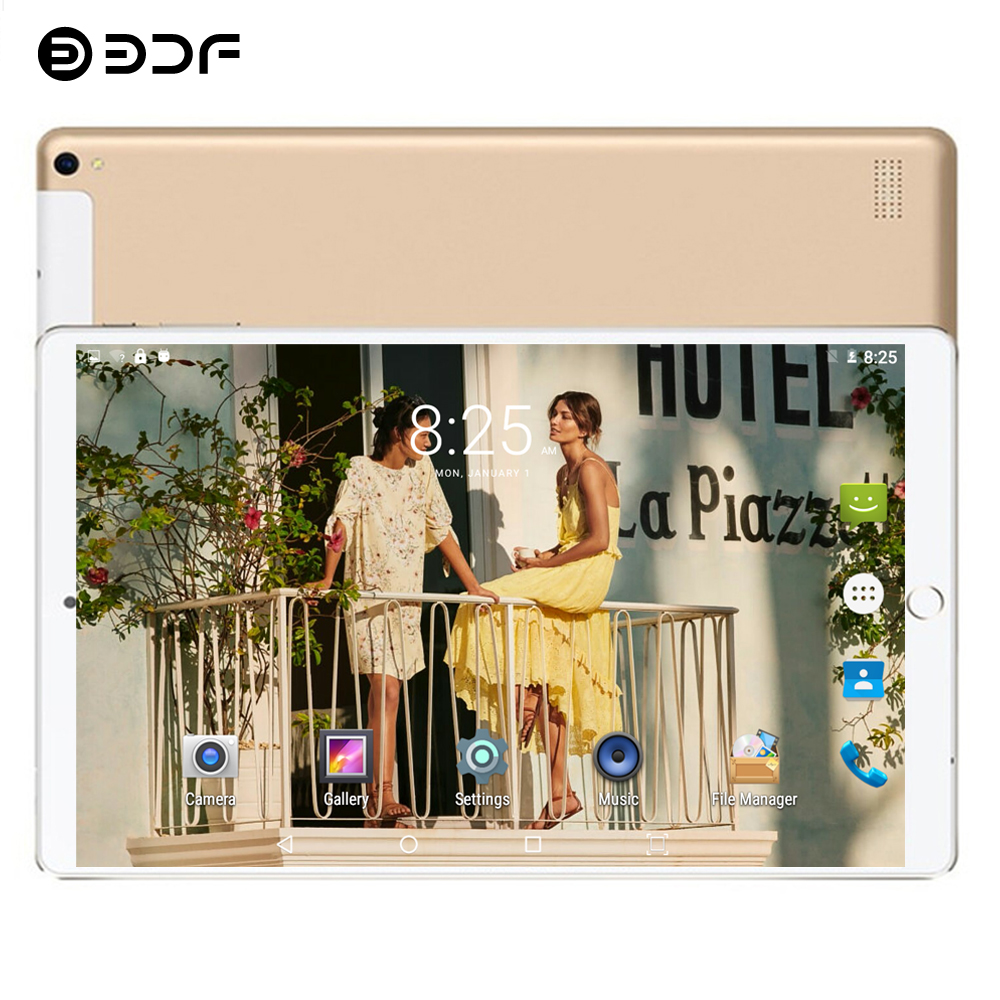 2020 New 10.1 Inch Android 7.0 Tablet PC 1280*800 Quad Core 1GB RAM 32GB ROM 5.0MP Dual SIM Card 3G Phone Call Video Tablets 10