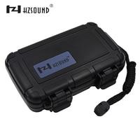 HZSOUND Simple Waterproof Earphone Bag Case Protective Case Portable Storage Bag Earphone Case L