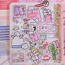 2019 Original Girl Cartoon Sticker Hand Account Sticker Mobile Phone Decoration Diy Custom Material Hand Cute Child Sticker