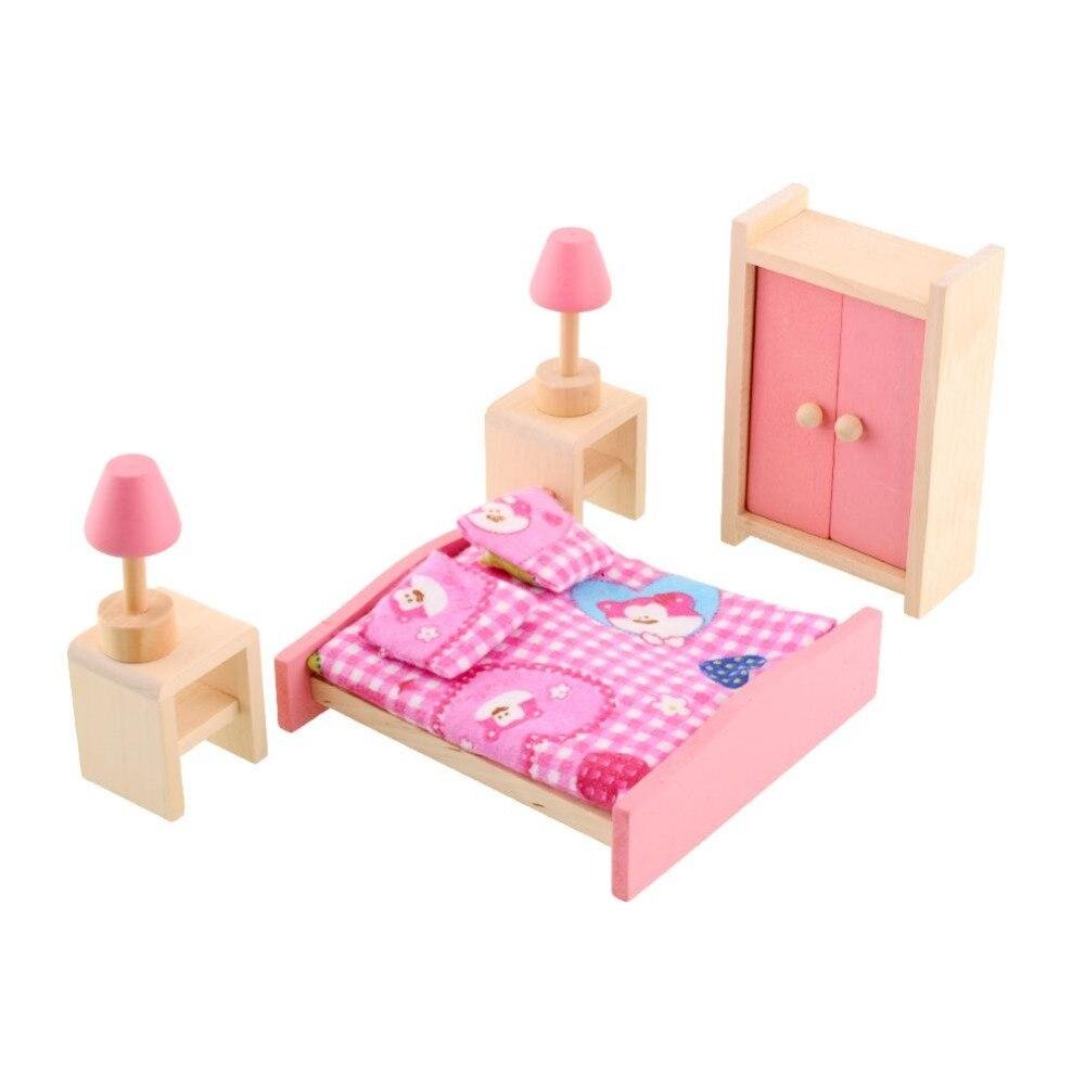 Online kopen wholesale poppenhuis meubels slaapkamer uit china ...