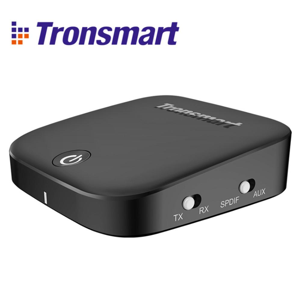 Tronsmart Encore M1 Bluetooth 2-in-1 Audio Transmitter and Receiver Bluetooth Version 4.1 With APT-X Bluetooth Audio Adapter bti 010 2 in 1 bluetooth transmitter