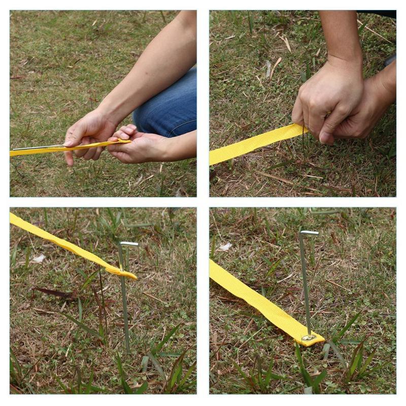 8 pièces plein air kangourou Hop sac saut formation équilibre jeux jouets pour enfants - 4