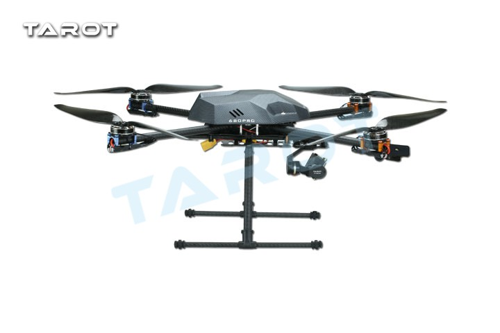 Tarot XS690 TL69A01 Sport Quadcopter with Metal Electric Retractable Landing Gear Skid kit TL8X002 Controller tarot tl69a02 metal electric retractable landing gear skid kit for tarot xs690 tl69a01 wheelbase 400 700 multicopter fpv f17602