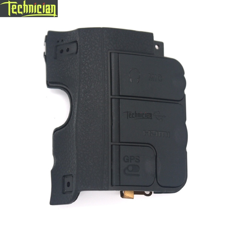 D600 USB COVER With Rubber Camera Repair Parts For Nikon
