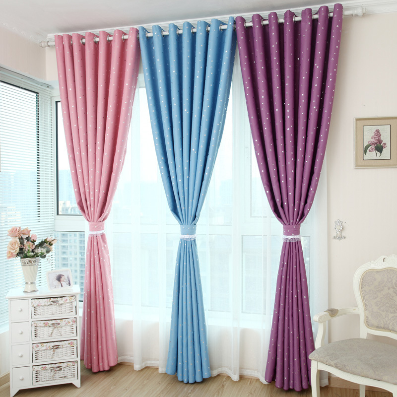 Heart Silver Shade Children Love Custom Curtains For Living Dining Room Bedroom Windows Draperies 1pc Curtain