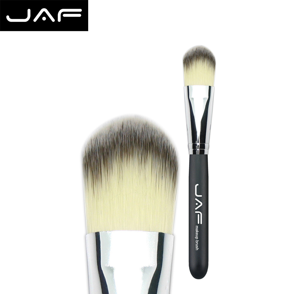 #12 Vegan Hair Makeup Brush Hot Foundation Blush Liquid Brush Pinceaux Profree Shipping 12STYF