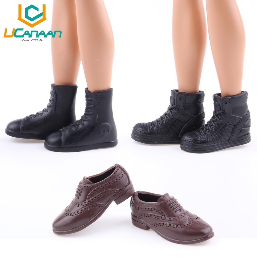 Elegir al azar azar al 3 par/lote Precio del wholsale zapatos para Barbie 5eb14a