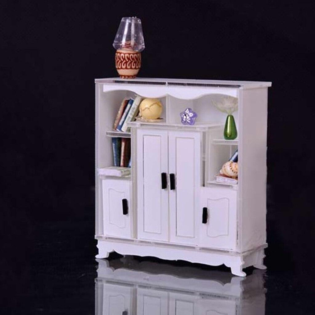 Dollhouse 1//12 Scale Miniature furniture Store Corner cabinet 2#  right