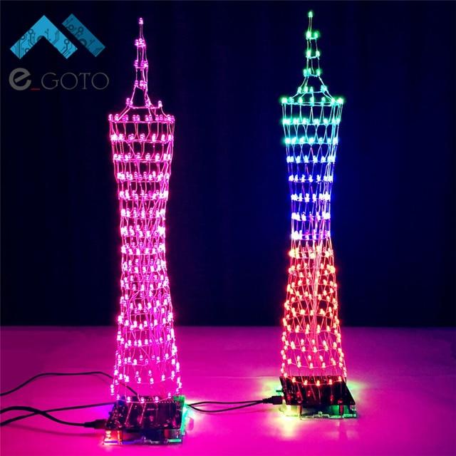 Light Tower Baseball Training: Kleurrijke LED Toren Display Lamp Infrarood