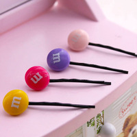 Lovely Soft Germination Clip To Candy Fruit A Word Clip Children S Hair Accessories