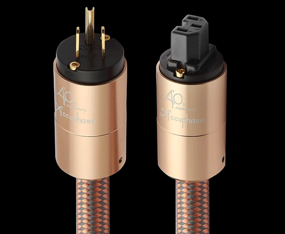 JP Accuphase fever imported power cord AU power cable hifi American standard audio CD amplifier amp EU US plug Power line