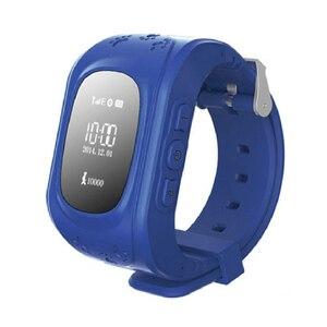 Image 2 - Anti Perso Q50 LCD OLED Bambino LBS GPS Tracker SOS Posizionamento di Monitoraggio Scherza Il Telefono SIM Smartwatch Intelligente Orologio Per IOS android