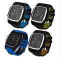 2017 ip57 gps bluetooth smart watch gt68 crianças inteligência esportes relógios à prova d' água para o telefone inteligente sim freqüência cardíaca pk dz09