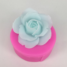3D stereoscopic flower silicone mold plaster mould hand made soap