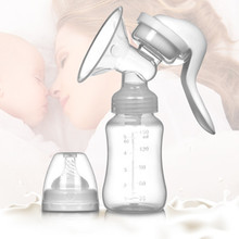 YOOAP Hand-operated Breast Milk Suction Machine Safe and Practical Maternal Infant Supplies for Mothers Milkers