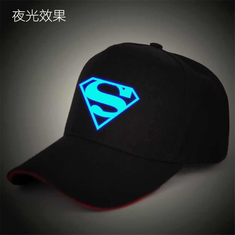 2017 Gorras Superman Cap Casquette Black Superman Baseball Cap Men Brand  Women Bone Superhero Snapback For 8950e87413ea