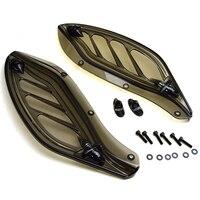 Upper Fairing Side Wing Windshield Air Deflectors Fairing For Harley Touring FLHX FLHT FLHX 1996 2013