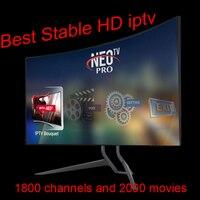 Neotv PRO 1800 Channels French IPTV Subscription Code Europe Arabic Belgium LiveTV M3U MAG254 For