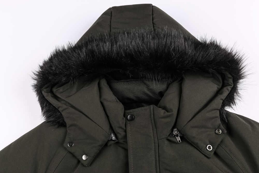 ブランド冬のジャケットの男性ミリタリージャケット軍熱フード付きパイロットジャケットコート厚いカジュアルパーカー爆撃機綿コート L-3XL