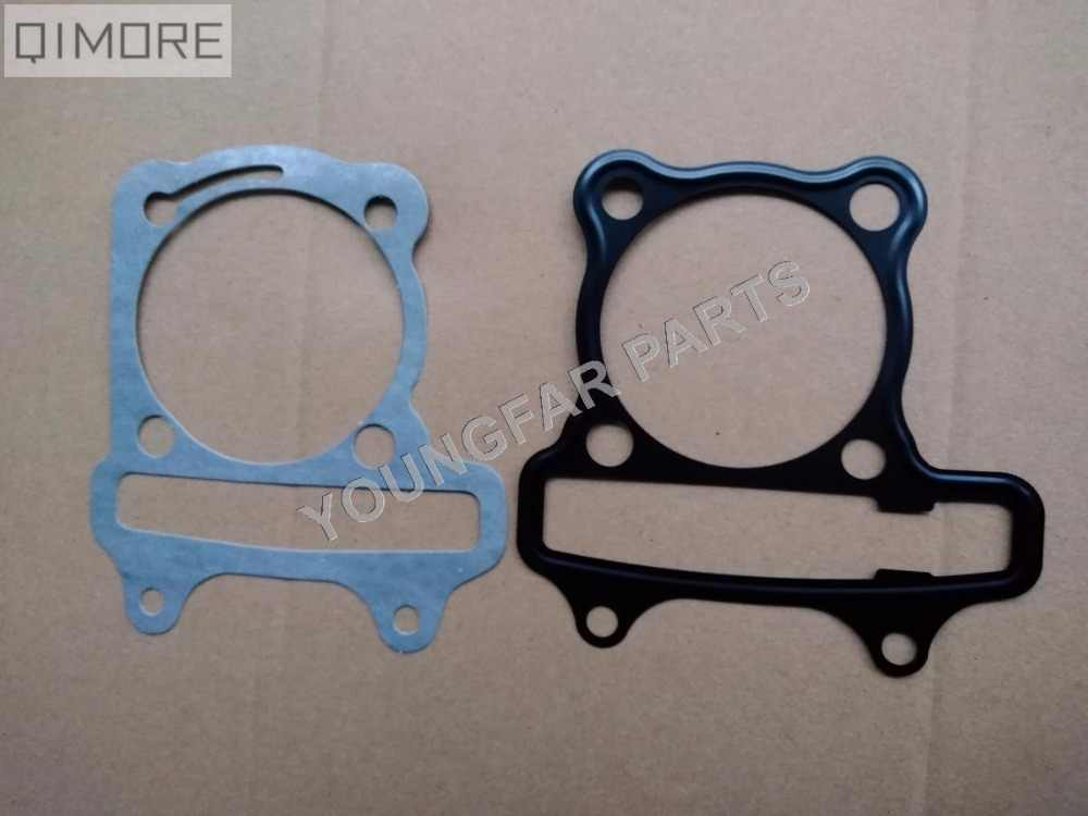 61mm big bore head Gasket & Base Gasket for 4 stroke Scooter Moped ATV QUAD 157QMJ 1P57QMJ GY6 150