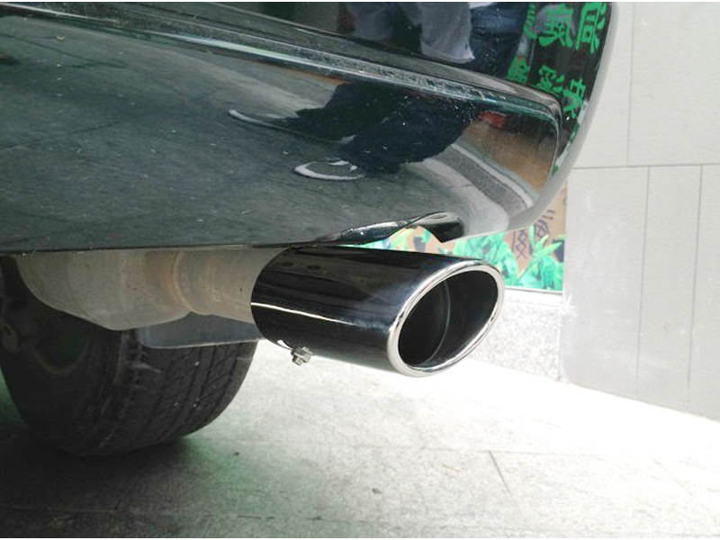 03-09 Toyota Prado FJ120 Land Cruiser Exhaust Muffler Tip End Pipe 2003 2004 2005 2006 2007 2008 2009 Toyota Land Cruiser