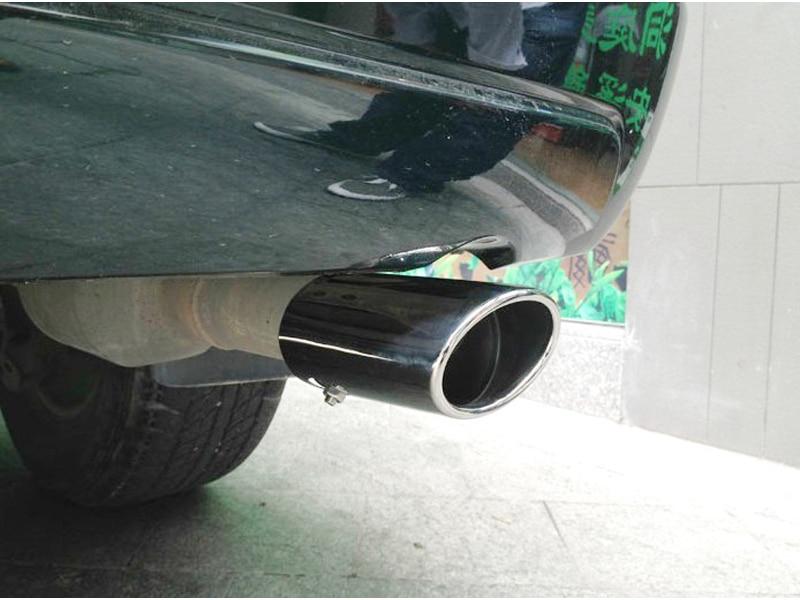 2003-2009  For  Toyota Prado FJ120 Land Cruiser Stainless Steel Exhaust Muffler Tip End Pipe 2003 2004 2005 2006 2007 2008 2009