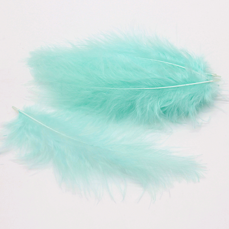 Natural Turkey Feathers Plumes 4-6 Inches10-15cm Multicolor Chicken Marabou Feather DIY Craft Wedding Jewelry Decoration 50pcs