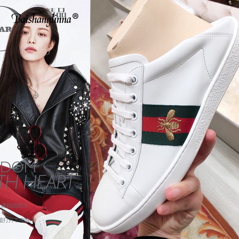 2018 Genuine leather women shoes casual Lace-Up handmade Flat shoes Round-Toe Spring Autumn women Flats breathable sneakers new ege brand handmade genuine leather spring shoes lace up breathable men casual shoes new fashion designer red flat male shoes