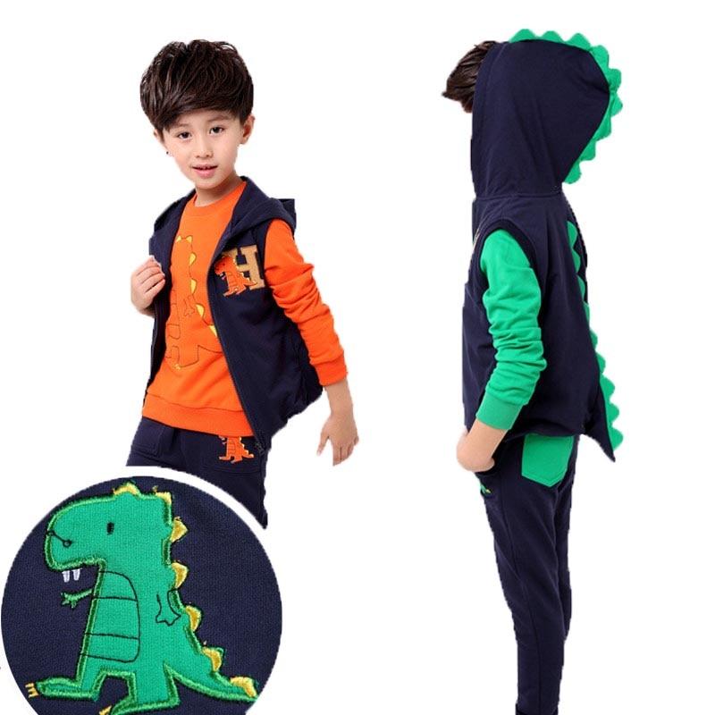 Fashion Clothing Sets Tops Pants Kids Clothes Roupas Infantis Menina Children Suit Tracksuit Conjunto Winter Cute Cartoon Jacket