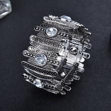 Wide Bohemian Style Women's Bracelet